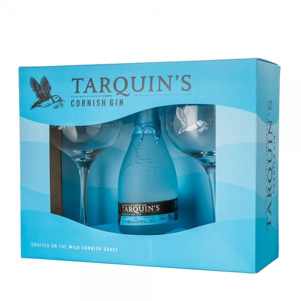 Tarquins Cornish Gin -  Gift Set With Glasses