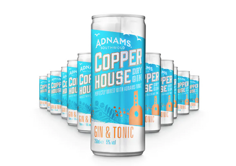 Adnams Copper House Gin & Tonic Cans (Case)