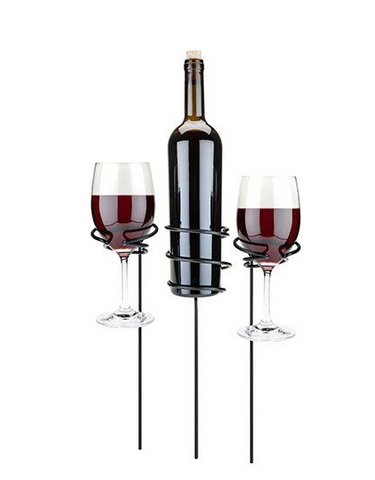 Picnic Stix - Wine Glass & Bottle Holders