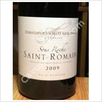 CHRISTOPHE VIOLOT - Saint Romain Rouge 2013