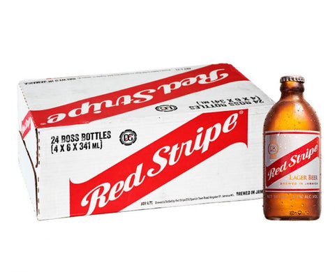 Red Stripe Lager Case