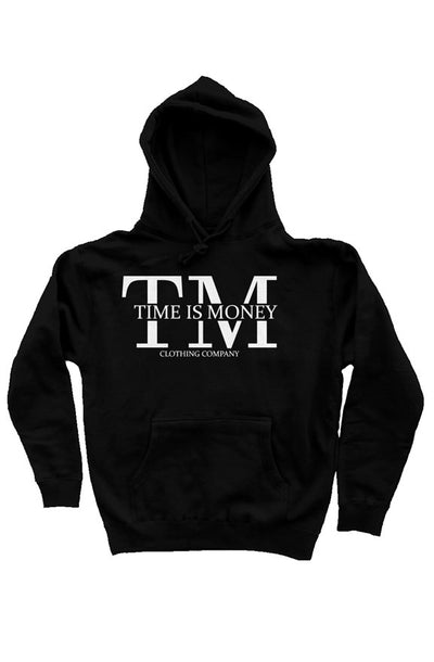 Time Is Money Mens Pullover Hoody