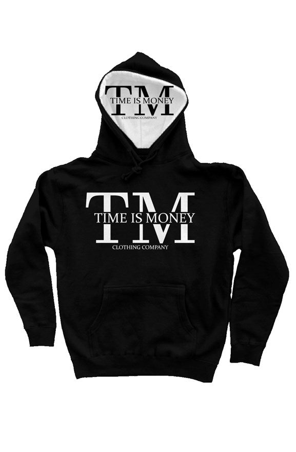 Time Is Money Luxury Streetwear Pullover Hoody