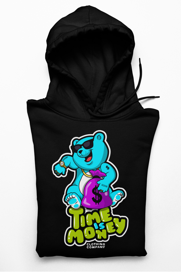 Time Is Money Hoodie Money Bear Style Limited Edition