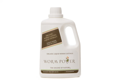 WP Organic Liquid Worm Casting Extract - 1 Gallon