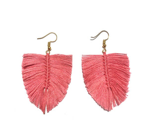 Aretes Boho Flamingo / Boho earrings flamingo Pink