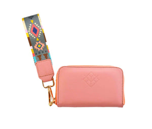 Cartera mini flamingo