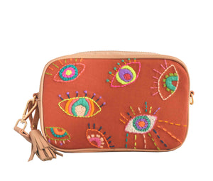 Crossbody Tulum Ojitos Natural