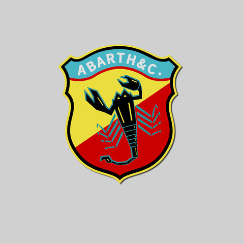 Abarth Exhaust Decal