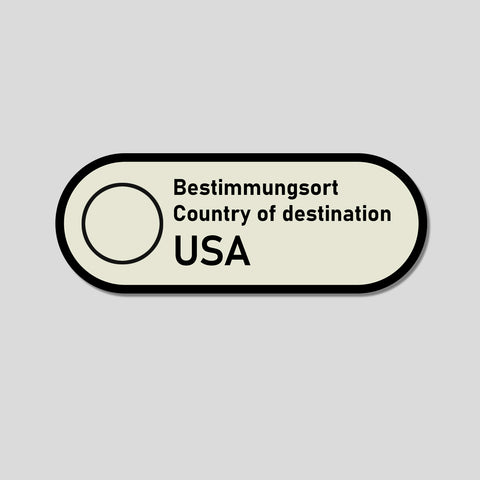 Destination Decal