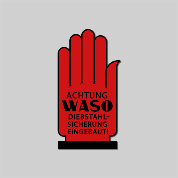Waso - Window decal
