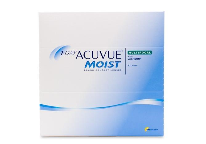 1 Day Acuvue Moist Multifocal 90 Contact Lenses