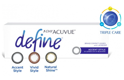 1 Day Acuvue Define 30 Contact Lenses