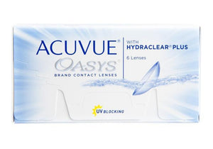 Acuvue Oasys 12 Contact Lenses (Fortnightlies) 6 months supply