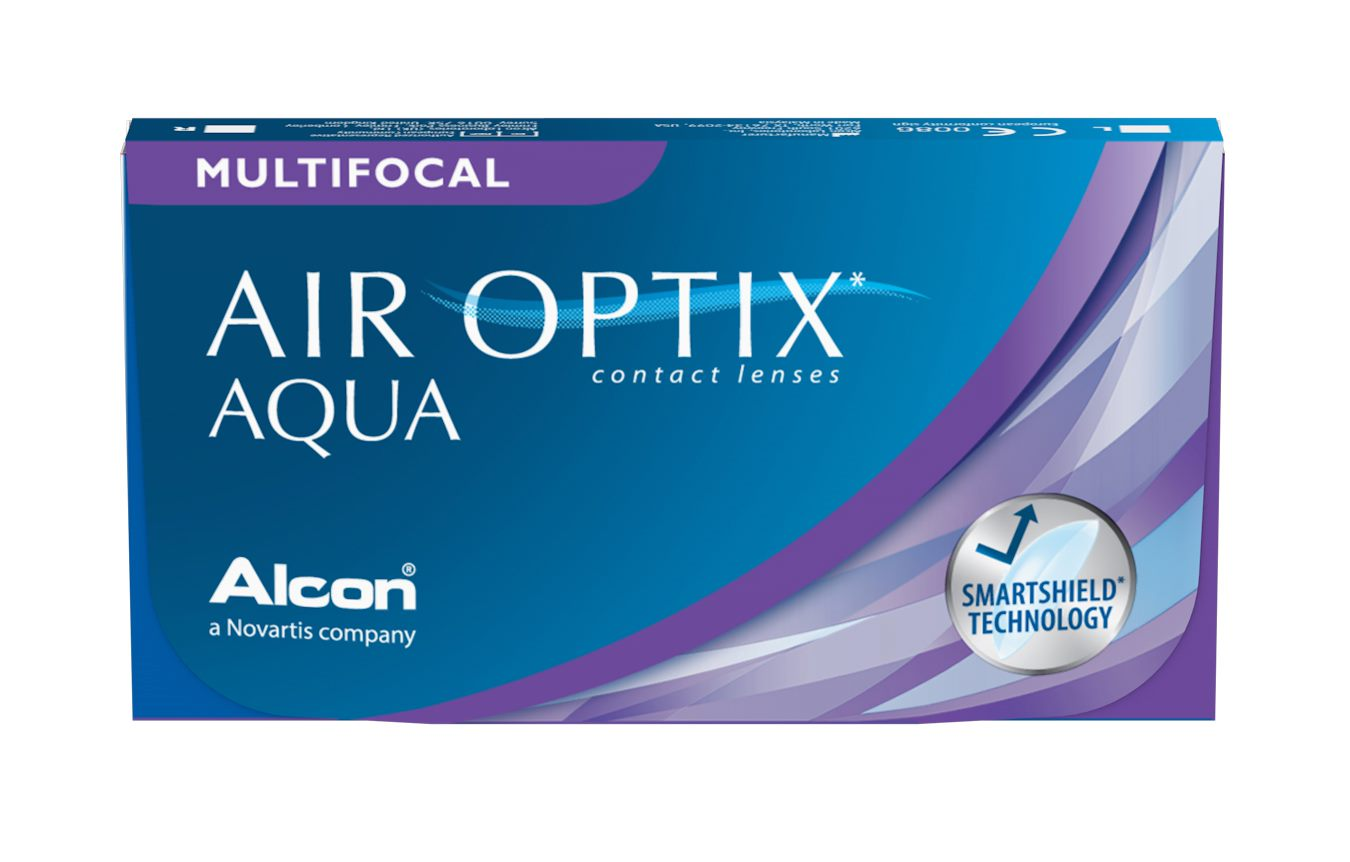 Air Optix Plus HydraGlyde Multifocal 3 Pack