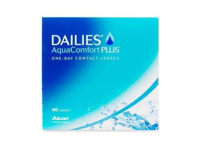 Dailies AquaComfort Plus 90 Contact Lenses