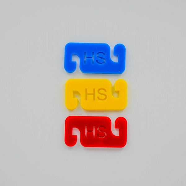 Ear Saver Mask Clips - 3/6/12/24 Pack - HS Motif - Harlem Starlet
