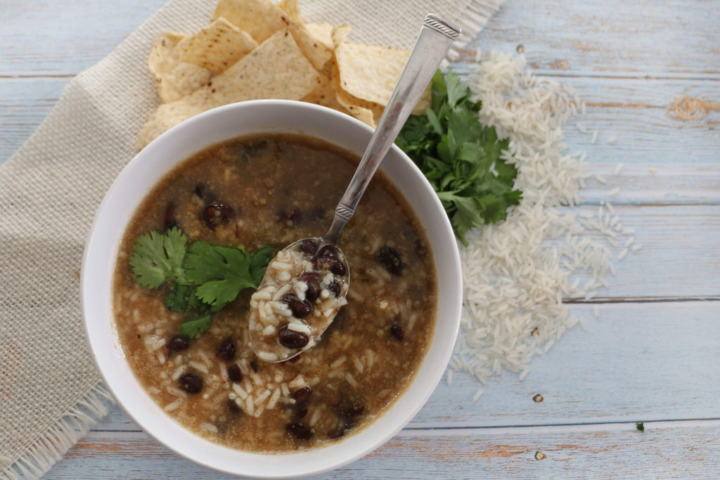 Gluten-Free Black Beans & Rice Cup o' Soup