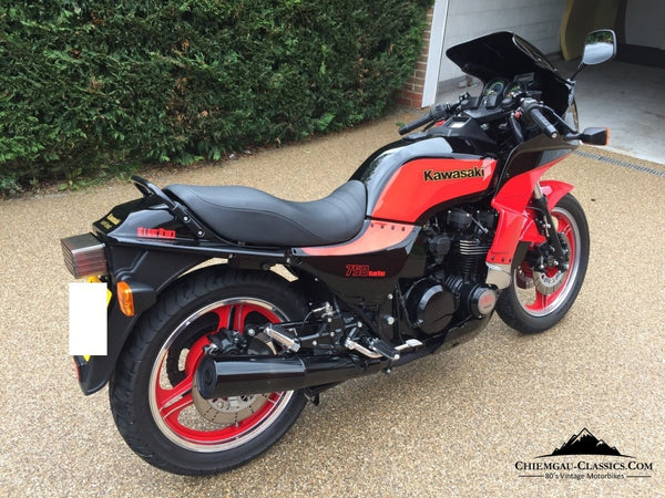Kawasaki Z750 Turbo Rebuild Uk Registered Bike