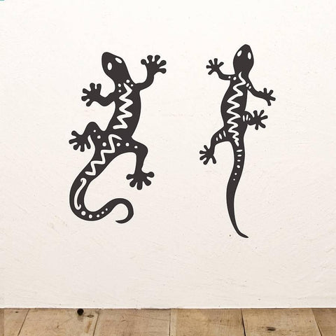 Gecko Wall Sticker Set - Oakdene Designs - 1