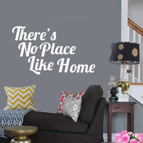 'There's No Place Like Home' Wall Sticker - Oakdene Designs - 1