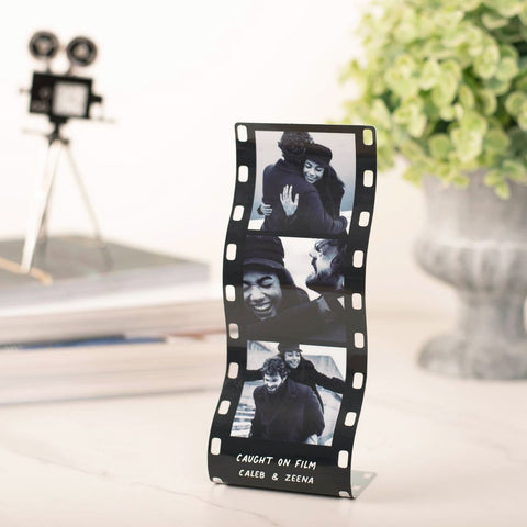 Personalised Mini Metal photo Reel Print