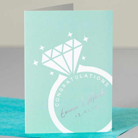 Congratulations Engagement Card