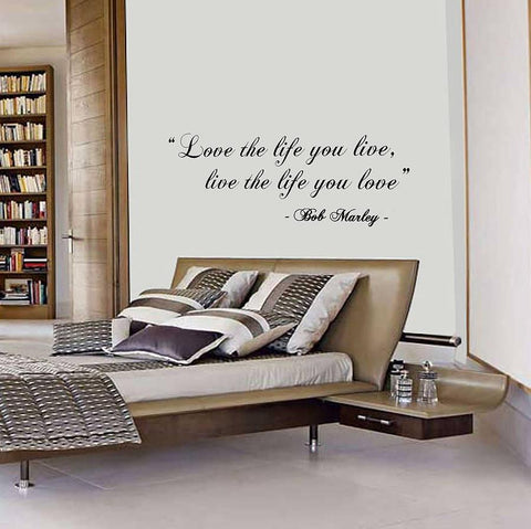 The life you live quote wall sticker oakdene designs 2
