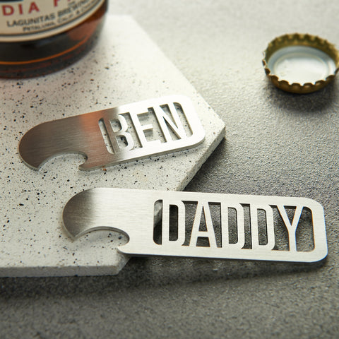 Personalised Name Bottle Opener