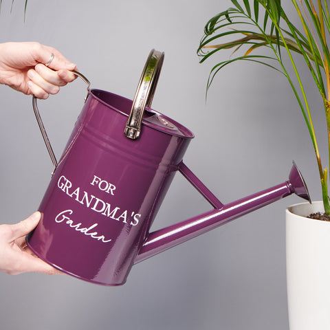 Personalised Enamel Watering Can