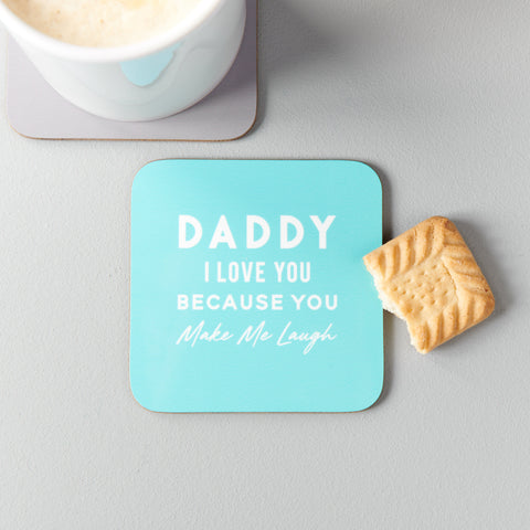 Personalised 'I Love You Because' Drinks Coaster