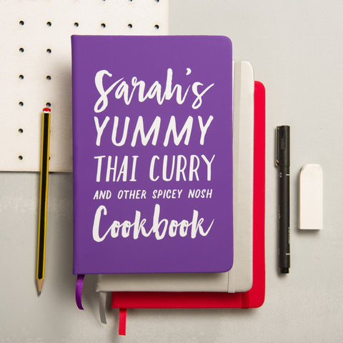 Personalised Yummy Cookbook - Oakdene Designs - 1