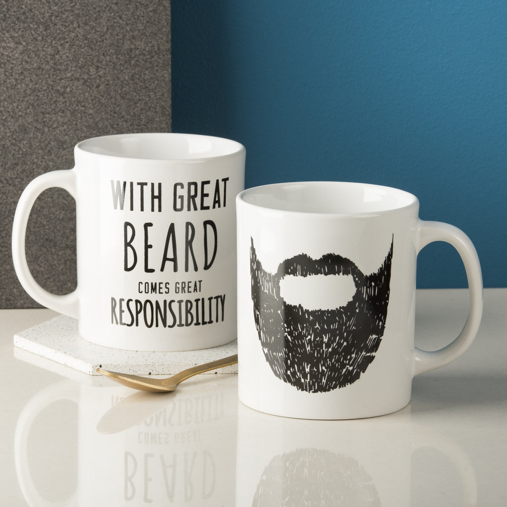Great Beard Man Mug Oakdenedesigns Com
