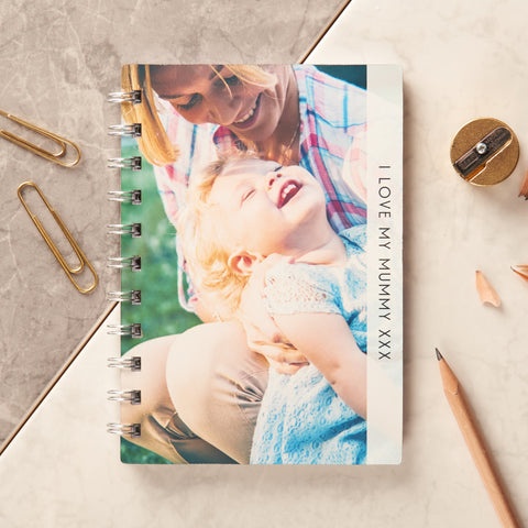 Personalised Metal Photo Pocket Notebook