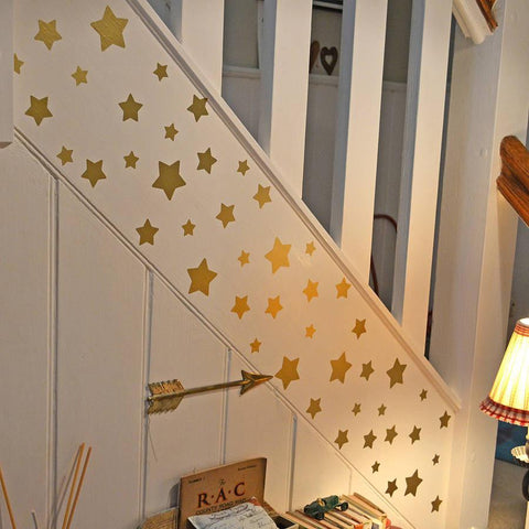 ... Gold Star Wall Sticker Set   Oakdene Designs   2