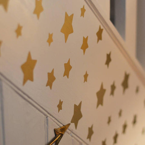 Gold Star Wall Sticker Set - Oakdene Designs - 1