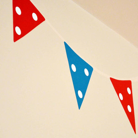 Bunting Wall Stickers - Oakdene Designs - 1