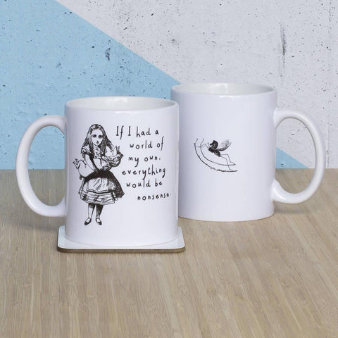 Alice In Wonderland 'A World Of My Own' Mug