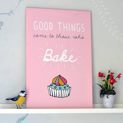 'Baking' Typographic Print - Oakdene Designs - 1
