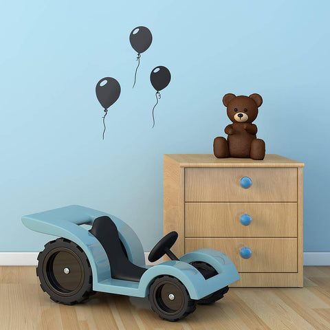 Balloons Vinyl Wall Sticker - Oakdene Designs - 1