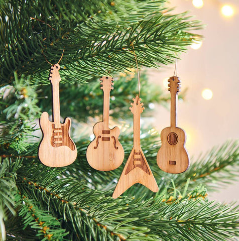 Bamboo Guitar Decorations