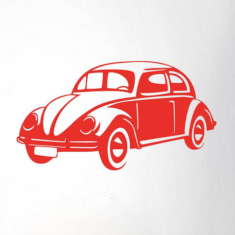 Retro Car Vinyl Wall Sticker - Oakdene Designs