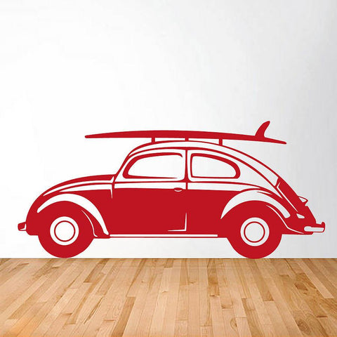 Classic Car Vinyl Wall Sticker Side View - Oakdene Designs - 1