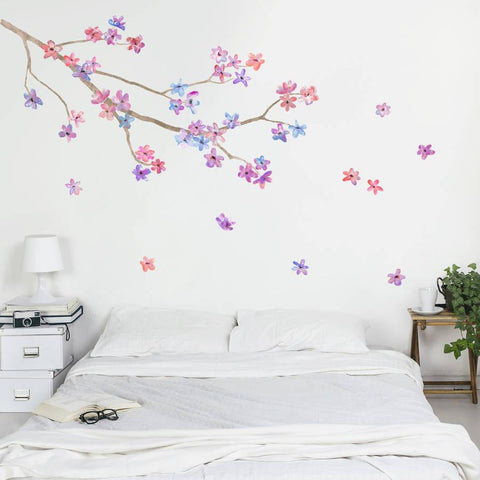 Blossom Branch Wall Sticker - Oakdene Designs - 1