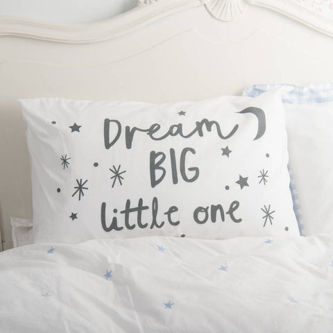 Children's 'Dream Big' Pillowcase
