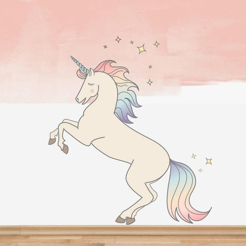 Children's Magical Unicorn Wall Sticker