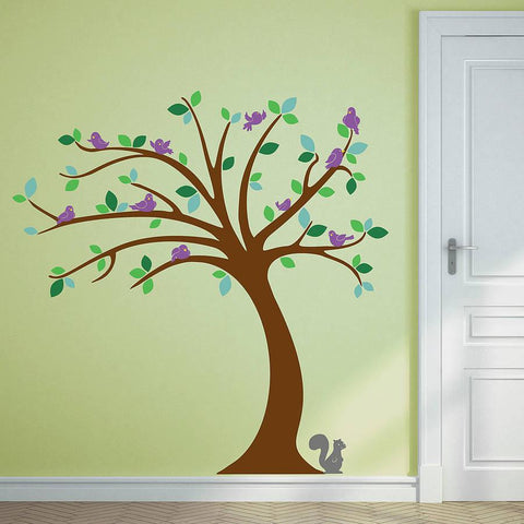 Children's Tree Wall Sticker Set - Oakdene Designs - 1