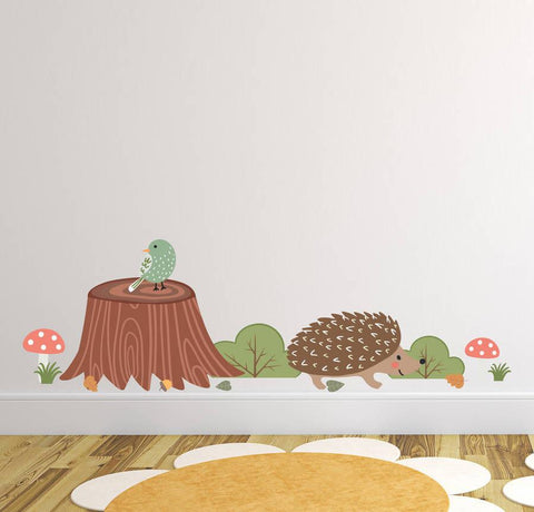 Children's Woodland Wall Sticker Set