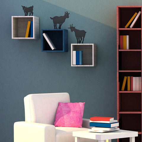 Climbing Goats Wall Sticker Set - Oakdene Designs - 1