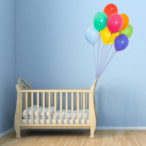 Colourful Balloons Vinyl Wall Sticker - Oakdene Designs - 1